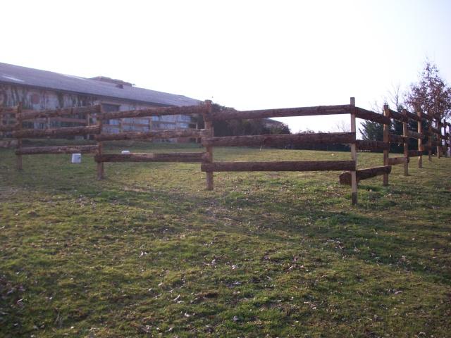 Exemple de réalisation: Clôture pour chevaux (image Google)