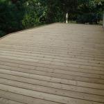 Terrasse bois brut